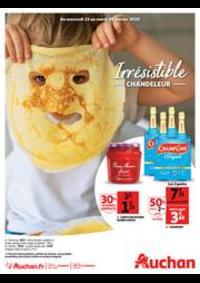 Prospectus Auchan PUTEAUX : Irrésistible Chandeleur