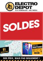 Promos et remises ELECTRO DEPOT : SOLDES. En dépôt et sur electrodepot.fr