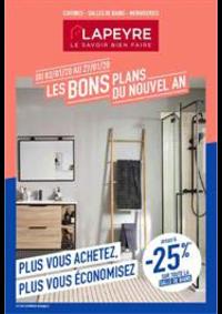 Prospectus Lapeyre Le Chesnay : Les bons plans du nouvel an