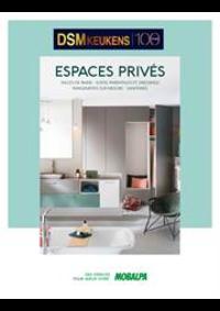 Prospectus Mobalpa TIENEN : Catalogue ESPACES PRIVEES