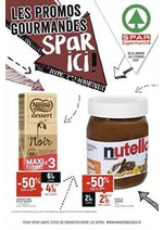 Catalogues et collections Spar : Les promos gourmandes