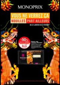 Promos et remises Monoprix PARIS 71 rue Saint Antoine : Vous ne verrez ça Nouilles part ailleurs