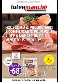 Prospectus Intermarché Super Juvisy-sur-Orge : PRODUCTEURS & COMMERÇANTS