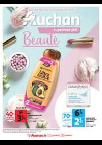 Prospectus Auchan Supermarché Paris 12 Reuilly : Auchan Beauté