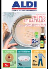 Prospectus Aldi Aulnay-sous-Bois : Crêpes et Gâteaux