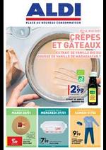 Prospectus Aldi : Crêpes et Gâteaux