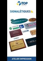 Prospectus Top office : Signalétiques