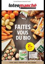 Prospectus Intermarché Super : FAITES VOUS DU BIO