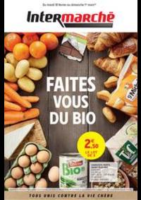 Prospectus Intermarché Super Le Perreux-sur-Marne : FAITES VOUS DU BIO