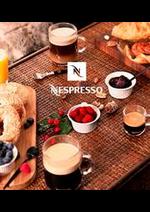 Prospectus Nespresso : Produits Nespresso