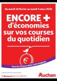 Prospectus Auchan BESSONCOURT : Des économies au quotidien