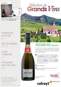 Prospectus Colruyt ANDERLECHT - VEEWEYDE : Grands Vins