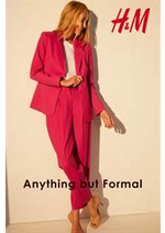 Catalogues et collections H&M : Anything but formal