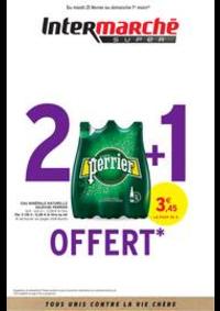 Prospectus Intermarché Super Lugrin : 2 + 1 OFFERT