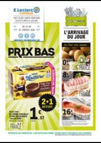 Prospectus E.Leclerc SAINT LOUIS : Prix bas