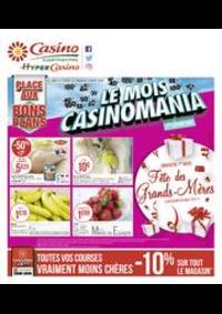 Prospectus Supermarchés Casino Clichy - Rue Martre : Le mois Casinomania