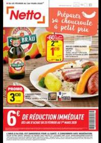 Promos et remises Netto Laloubère : Catalogue Netto