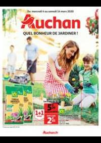 Bons Plans Auchan TAVERNY : Quel bonheur de jardiner !