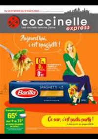 Prospectus Coccinelle Express PARIS : Aujourd'hui c'est spaghetti!