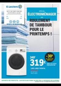 Prospectus E.Leclerc LE BLANC MESNIL : ROULEMENT DE TAMBOUR POUR LE PRINTEMPS !