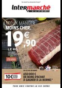 Prospectus Intermarché Super Givet : MIEUX MANGER MOINS CHER.