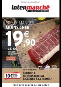 Prospectus Intermarché Super Ris Orangis : MIEUX MANGER MOINS CHER.