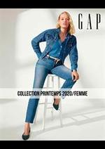 Catalogues et collections Gap : Collection Printemps 2020  Femme
