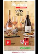Prospectus Auchan : Foire aux vins, saveurs printanières
