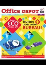 Prospectus Office DEPOT : TOUJOURS PLUS POUR VOTRE BUREAU