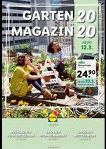 Journaux et magazines Lidl : Garten Magazin 2020