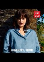 Prospectus Uniqlo : Nouveautés / Femme