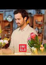 Prospectus Uniqlo : Nouveautés / Homme