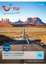 Tarifs TUI : Routes d'Amérique Été 2020