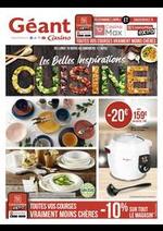 Prospectus Géant Casino : Les belles inspirations cuisine