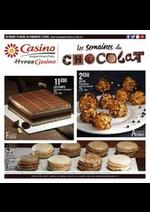 Prospectus Supermarchés Casino : Les semaines du chocolat