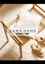 Catalogues et collections ZARA HOME : Vêtements  Femme