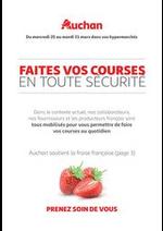 Services et infos pratiques Auchan : Soutenons nos producteurs Français !