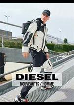 Catalogues et collections Diesel : Nouveautés  Homme