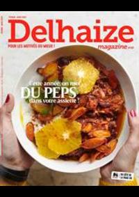 Prospectus Supermarché Delhaize Grivegnée : Delhaize Magazine