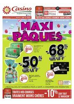 Prospectus Supermarchés Casino : Maxi Pâques