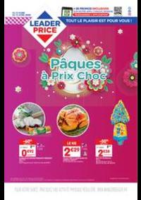 Prospectus Leader Price Le Blanc-Mesnil : Pâques à Prix Choc