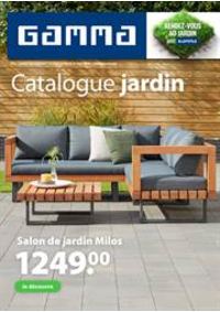 Prospectus GAMMA JUMET : Catalogue jardin