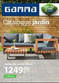 Prospectus GAMMA VERVIERS : Catalogue jardin