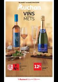 Prospectus Auchan PUTEAUX : Auchan des vins et des mets
