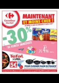 Promos et remises Carrefour Market GUYANCOURT : Maintenant et moins cher !