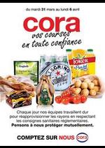 Services et infos pratiques Cora : Catalogue Cora