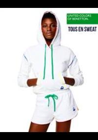 Prospectus United Colors of Benetton Woluwe-Saint-Lambert : Tous en sweat / Femme