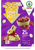 Prospectus Spar : -25% Spar ici!