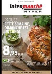 Prospectus Intermarché Hyper Thonon-Les-Bains : PÂQUES