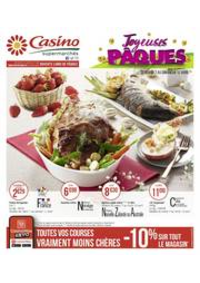 Prospectus Supermarchés Casino PARIS 352 RUE LECOURBE : Joyeuses Pâques